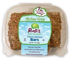 Rudi's Gluten Free Snack Bars - Cherry Almond