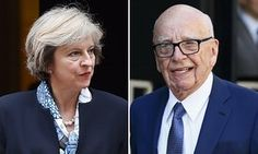 Theresa May had private meeting with Rupert Murdoch