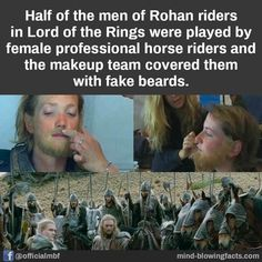 Rather than say, having female warriors in the background. Weird Facts, Fun Facts, J. R. R. Tolkien, Funny Memes, Hilarious, Fandoms, Legolas, The More You Know, Middle Earth