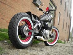 1985 Honda Rebel Bobber - http://www.hondarebelforum.com/f18/my-first-bobber-build-12950.html