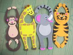 Colgador de puerta para niños   Manualidades - Manualidades Gratis