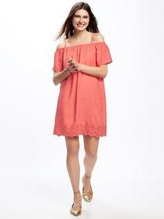 4d86203e20d Off-the-Shoulder Shift Dress for Women Old Navy Dresses