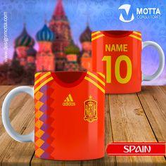 18313c8f166b9 Design for mugs world football t-shirts. Diseños Para TazasEquipo ...