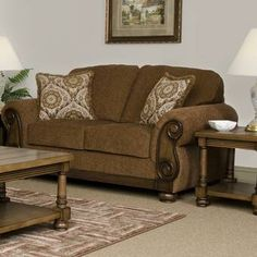 Chic Round Arm Loveseat by Hughes Furniture Sofas Home Decor Furniture from top store Sofa Furniture, Living Room Furniture, Furniture Sale, Furniture Makeover, Modern Furniture, Living Rooms, Furniture Design, Loveseat Sofa, Sofas