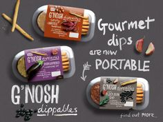 Great use of packaging/brand elements to influence web design  G'NOSH Limited