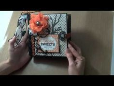 6x6 Halloween Mini-Album featuring Echo Park Apothecary Emporium