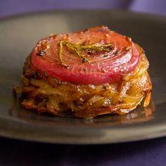 Onion-Topped Potato & Rutabaga Cakes (Neeps and Tattie Cakes)