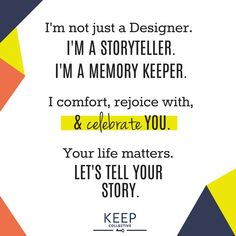 Be Creative. Let me help. keep-collective.com/with/kendra