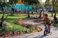 At Al Nahda #Resort & #Spa, #Oman Kids enjoy a designated garden complete with trees & flowers. #LuxuryResort #Travel