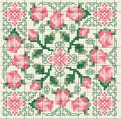 View image: 8f11921e1962776be5859a6285b9ceb0[ ]1323023036 Biscornu Cross Stitch, Cross Stitch Pillow, Cross Stitch Love, Cross Stitch Borders, Cross Stitch Flowers, Cross Stitch Charts, Cross Stitch Designs, Cross Stitching, Cross Stitch Patterns