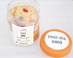 ¡Feliz día papás! Baking Ingredients, Cookie Dough, Fathers Day, Sugar, Cookies, Ideas, Food, Sweets, Happy Day