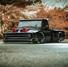 What& better than a classic pickup truck? How about a custom pickup truck. Love seeing what people do with their old pickup trucks. Enjoy this photo album Ford Trucks, Custom Pickup Trucks, Classic Pickup Trucks, Old Pickup Trucks, Diesel Trucks, Dually Trucks, Rat Rod Trucks, Vintage Chevy Trucks, Lowrider Trucks