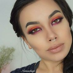 Delicate Beauty septum ring looking SO much better on gorgeous angelic  @nataschap   Click link in bio #Repost  New video is live on my channelNatascha Pedersen Makeup  Using @meltcosmetics Dark Matter Stack and Radioactive stack #nataschap