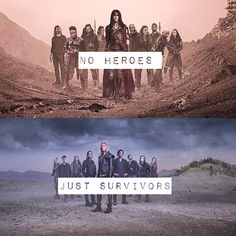 The 100 - No Heroes, Just Survivors Bellarke, Series Movies, Tv Series, Serie Tv, Stranger Things, The 100 Quotes, 100 Memes, The 100 Show, The 100 Clexa
