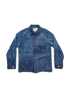 Indigo Chore Coat - Knickerbocker MFG. Co. + Manready Mercantile