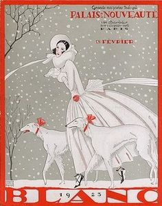 French Christmass, 1923