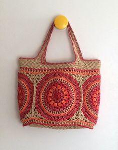 .37+ Best Picture of Crochet Raffia Bag Pattern Crochet Raffia Bag Pattern Paper Raffia Mandala Bag My Works Pinterest Knitted Bags #freepatternchrocet