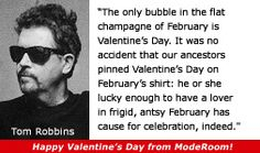 For more information about Tom Robbins: http://www.Dailyliteraryquote.com/dlq-literature-magazine/  Courtesy of http://www.DailyLiteraryQuote.com.  More quotes and social literary discussions at CulturalBook.com