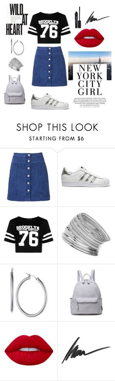 """""""Skirts with Sneakers"""" by loewenangel ❤ liked on Polyvore featuring Witchery, adidas Originals, Boohoo, Miss Selfridge, Nine West, Lime Crime, Max Factor, Smashbox and sneakers"""