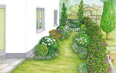 7 Honest Tips: Large Garden Ideas Winter backyard garden layout lawn.Tiny Backyard Garden Dreams garden ideas for small spaces budget. Garden Types, Herb Garden Design, Backyard Garden Design, Small Garden Design, Balcony Garden, Backyard Landscaping, Small Backyard Gardens, Small Gardens, Orquideas Cymbidium