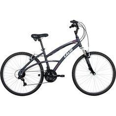 Bicicleta 400 Caloi Aro 26 T16 V21 Feminina Cinza