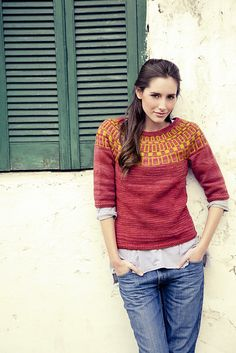8e3ac83321 Ravelry  Dijon pattern by Coralie Meslin Sweater Knitting Patterns
