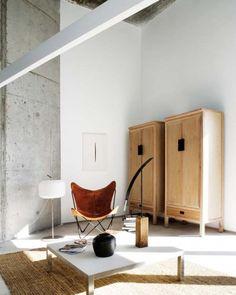 Mueblería en madera y combinación de estilos...