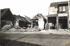 WW2 in the Netherlands. The French bombing of Tilburg on May 13th 1940