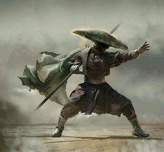 Incredibly Cool Fantasy Warrior Art by David Seguin — GeekTyrant Fantasy Warrior, Fantasy Art, Fantasy Blade, Fantasy Samurai, Samurai Concept, Ronin Samurai, Samurai Warrior, Female Samurai, Character Concept