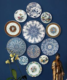Plates on a wall (Photo by JPDSODPB|Photobucket) #mexican #inspiration