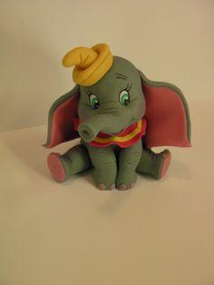 "Studio ""FONDANT DESIGN ANA"" - Figurice za torte (fondant figures): DAMBO - Disney cartoon"