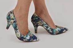sapatos floral - Pesquisa Google