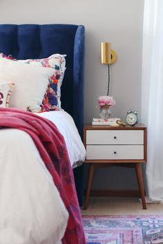 11 bohemian bedside space