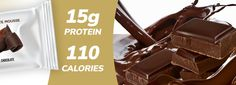 I Can't Believe This Is A Protein Bar! It's Smooth and Delicious! This is undoubtedly the best protein bar on the market! Protein Bar Brands, Best Tasting Protein Bars, Chocolate Mix, Chocolate Lovers, Chocolate Protein, Chocolate Calories, Dessert Recipes, Cake Recipes, Desserts