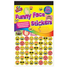 15 x Funny Face Emoji Design Colouring Colour Pencils School Home Party Bag