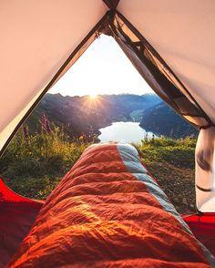 Best way to wake up w/ @msr_gear