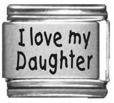 I Love My Daughter 2 Laser Italian Charm  http://electmejewellery.com/jewelry/charms/italian-style/i-love-my-daughter-2-laser-italian-charm-com/