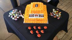 Harley-Davidson® birthday cake for our birthday party!