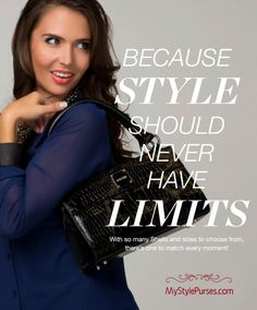 With Miche, Style Never Has Limits - MyStylePurses.blogspot.com