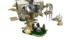 LEGO Ideas - Lothlorien ideas.lego.com - house of Celebor and Galadriel from after the escape of the Fellowship from Moria - Galadriel shows Frodo the things that could come to pastlego lord of the rings galadriel - Google Search