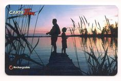 2013 - Father and Son Fishing - French - #FD35160. Available for Trade - 8
