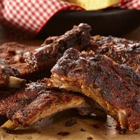 Grilled Sweet and Smoky Ribs