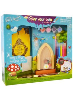 Paint Your Own Fairy Door - The Irish Fairy Door Company