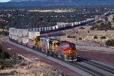 https://flic.kr/p/QS9PQW | Atchison, Topeka & Santa Fe EMD GP-60M 159 | Winona, Arizona
