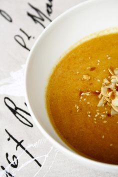 Ingwer-Orangen-Karotten-Suppe  Ginger-Orange-Carrot-Soup  http://babyrockmyday.com/ingwer-orangen-karotten-suppe/