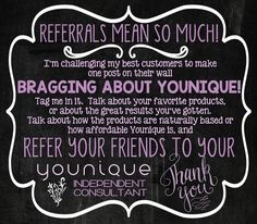 My friends and family are the best supporters of my small business. Continue to support me by promoting Younique and me as an Independent Presenter! Mwwwaaaa!