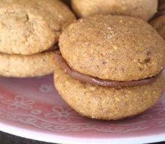Baci di Dama - hazelnut cookies filled with chocolate