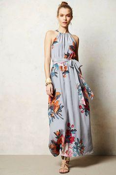 Three-Act Maxi Dress
