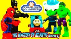THE OCTONAUTS PAW PATROL AVENGERS TOYS ADVENTURE - The Mystery of Atlant...