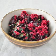 Quinoa Salad with Roasted Beets - Tried this.  I liked it.  My boys were a little hesitant about it but my 10 yr old said it wasn't as bad as he thought.  I enjoyed this as a lunch the day after as well.  We didn't have OJ and I used lime juice and it worked fine.